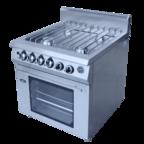 Плита газовая с духовкой ф4пдг/900 (решетка из н/стали) GRILL MASTER