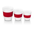 Набор керамических стаканов Oursson TW89443/RD