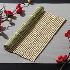 Циновка, коврик для суши бамбуковый 24×24 см