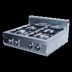 Плита газовая 4-х горелочная ф4пг/800 (настольная) GRILL MASTER